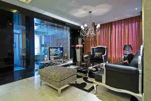 142平米古典欧式风格精致大户型室内装修效果图案例