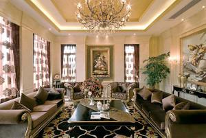 古典欧式风格精致别墅装修效果图欣赏