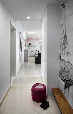 122平米现代简约风格三室两厅室内装修效果图赏析