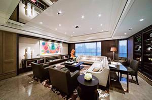 145平米新中式风格精致大户型室内装修效果图