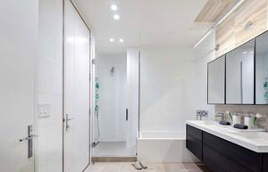 现代风格大户型精致卫生间装修效果图欣赏