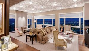 120平米简欧风格酒店总统套房装修效果图