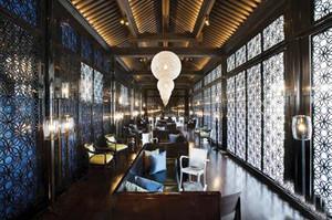中式风格古朴典雅酒店装修效果图赏析