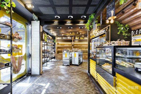 现代简约风格小型咖啡厅设计装修效果图赏析