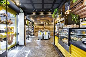 90平米后现代风格精品面包店装修效果图赏析