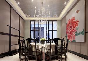 中式风格古朴酒店包厢装修实景图赏析