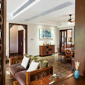 80平米东南亚风格精致室内装修效果图赏析