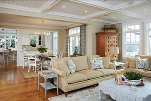 231平米简欧风格别墅室内装修效果图案例