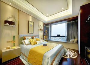 新中式风格活力精致卧室装修效果图赏析