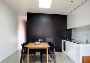现代风格小户型厨房餐厅设计装修效果图