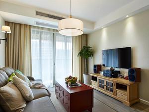 75平米宜家风格简约两室两厅室内装修效果图赏析