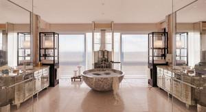 欧式风格五星级酒店豪华卫生间装修效果图