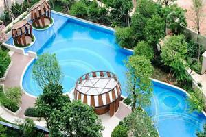 简约五星级酒店游泳池装修效果图欣赏