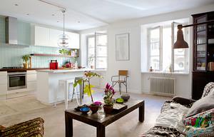 北欧风格淳朴自然一居室小户型装修效果图赏析
