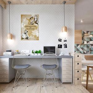 49平米简约风格温馨单身公寓装修效果图赏析