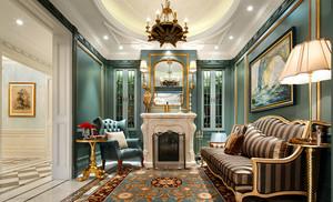 400平米法式风格奢华浪别墅室内装修效果图鉴赏