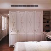 简欧风格大户型卧室衣柜设计装修效果图赏析