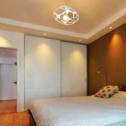 现代风格卧室整体衣柜设计装修效果图赏析