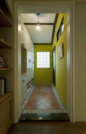 100平米美式田园风格自然清新室内装修效果图案例