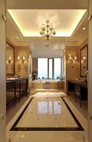 欧式风格别墅室内精致卫生间装修效果图欣赏