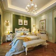 欧式风格别墅室内精美卧室装修实景图欣赏