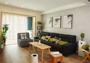 宜家风格整洁简约客厅装修效果图