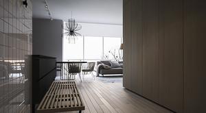 79平米宜家风格简约两室两厅室内装修效果图赏析
