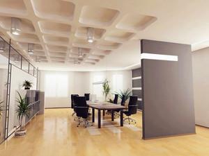 现代简约风格办公室隔断设计装修效果图赏析