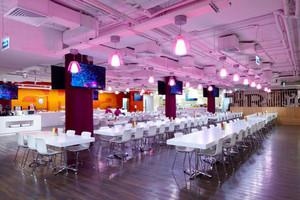 140平米现代简约风格快餐店设计装修效果图赏析
