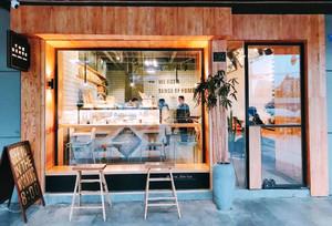 60平米北欧风格面包店设计装修效果图