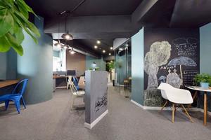 现代风格时尚创意小型办公室装修效果图赏析
