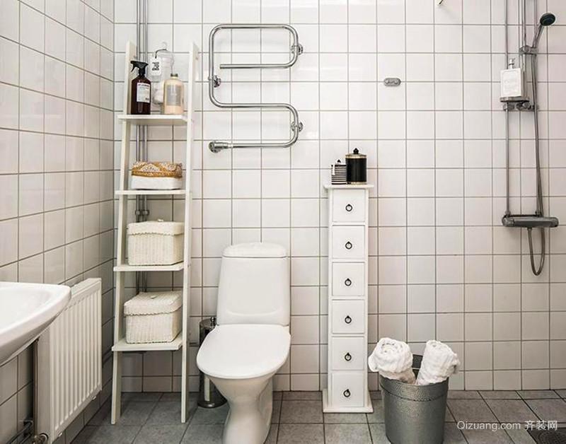 56平米北欧风格一居室小户型装修效果图赏析