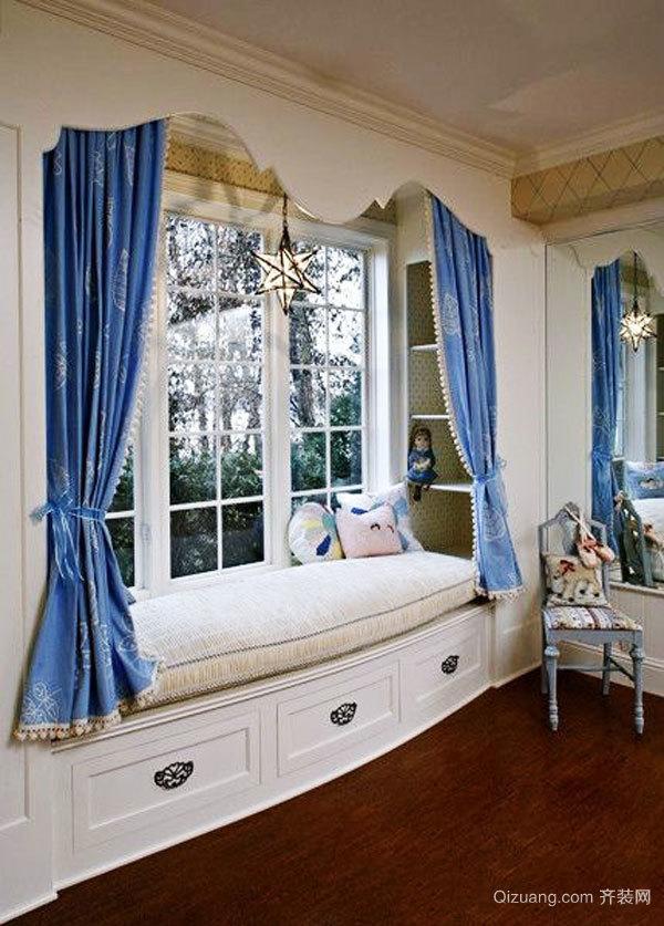 欧式风格别墅精美飘窗设计装修效果图鉴赏