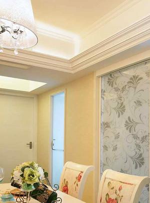 100平米清新欧式风格精装室内装修效果图案例