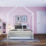 北欧风格马克龙色儿童房装修效果图赏析