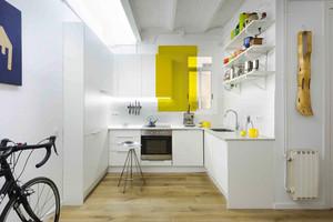 74平米现代简约风格精装公寓装修效果图鉴赏