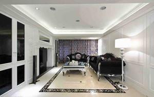 145平米新古典主义风格三室两厅室内装修效果图赏析
