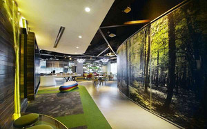 现代风格时尚创意办公室装修效果图赏析