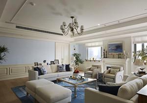 115平米简欧风格精装两室两厅室内装修效果图案例