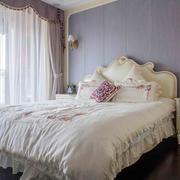 简欧风格温馨浅色卧室装修效果图赏析