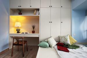 现代简约风格小户型榻榻米卧室装修效果图