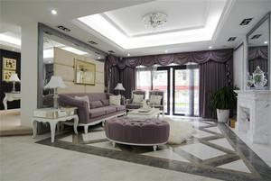 159平米欧式风格奢华大户型装修效果图案例