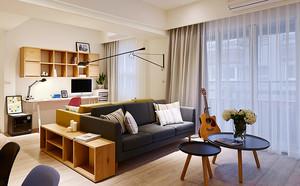 75平米宜家风格简约两室两厅一卫装修效果图赏析