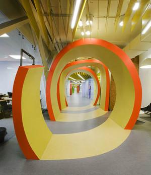 现代简约风格创意办公室装修效果图赏析