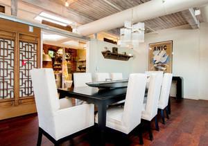 混搭风格大户型餐厅吊顶设计装修效果图赏析