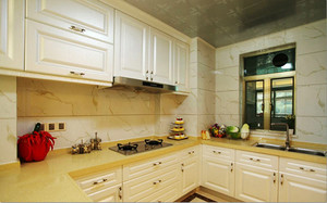 104平米简欧风格温馨两室两厅室内装修效果图案例