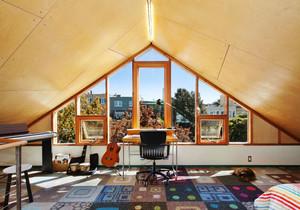美式风格别墅阁楼设计装修效果图欣赏
