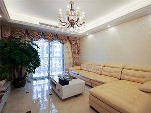 131平米简约美式三室两厅室内装修效果图赏析