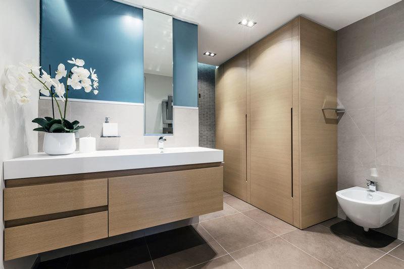 10平米现代风格卫生间装修效果图欣赏