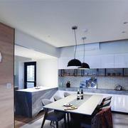 现代风格简约厨房餐厅装修效果图赏析
